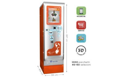 DISTRIBUTORE AUTOMATICO SIGARETTE TOUCH SCREEN: IS LUX 40/60