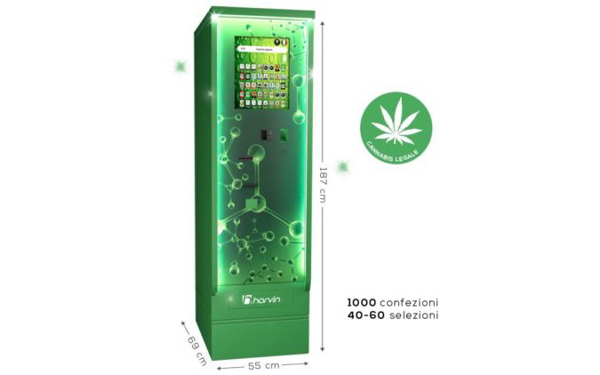 DISTRIBUTORE AUTOMATICO DI CANNABIS LEGALE: MAGIC WIND 40 – 60